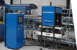 Evolution 1 - Stand-ALone finish Glass inspection machine