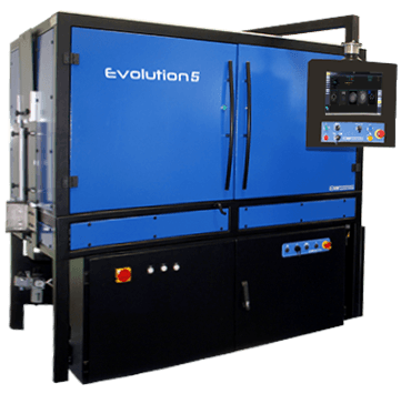 Evolution 5 : base, finish and base stress inspection machine with mould number reader